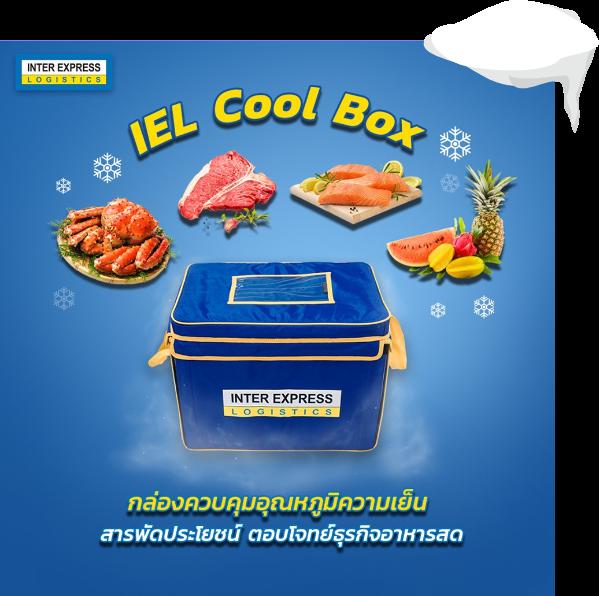 iel cool box ขนส่งควบคุมอุณหภูมิ