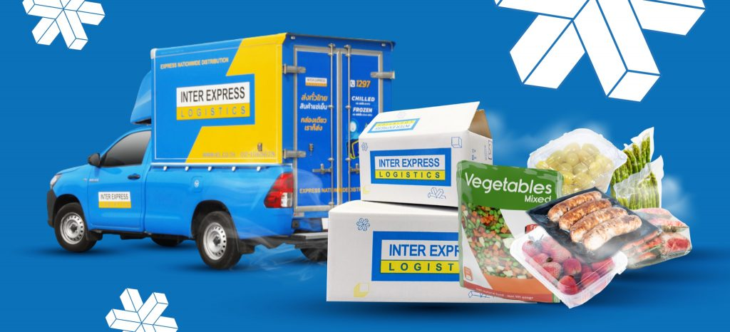 ขนส่งควบคุมอุณหภูมิ ขนส่งรถเย็นโดยกล่องกระดาษ