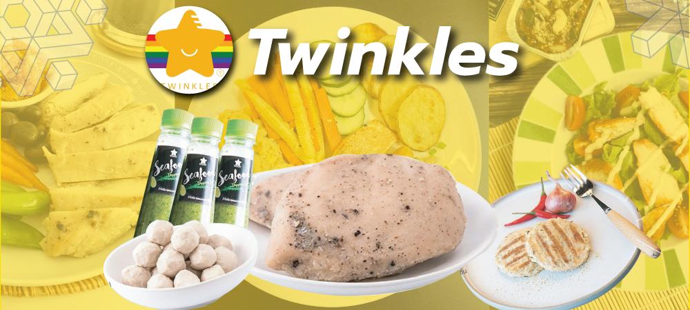 อาหารคลีน Twinkles